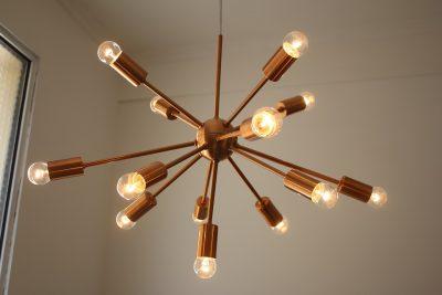 Eclairage du salon: les dernières tendances luminaires
