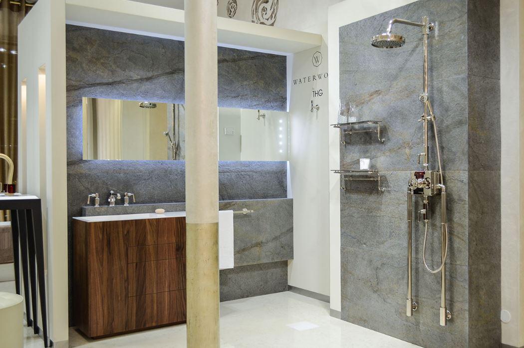 La feuille de pierre : un matériau design pour votre salle de bain