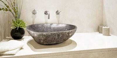 Lavabo en pierre: une pièce design pour décorer sa salle de bains
